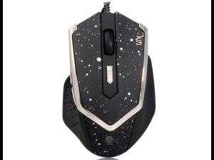 Genius X3 Adjustable DPI Professional Gaming Mouse Titanium Edition (Black)