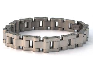 Motorcyle Chain Link Style Stainless Steel Bracelet