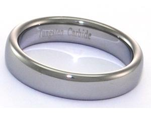 Narrow Tungsten Carbide Dome Shaped Ring