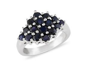 2 ct.t.w. Sapphire Ring in Silver