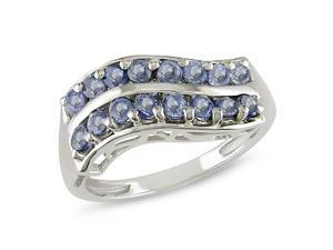 1 ct.t.w. Sapphire Ring in Silver