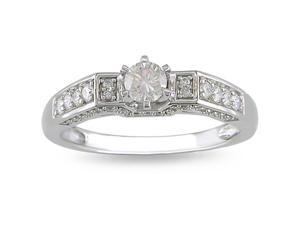 14k Gold 1/2ct TDW Diamond Engagement Ring (H-I, I2-I3)