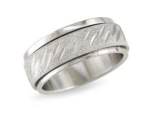 Stainless steel Spinning Ring (8mm)