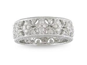 1/3ct Diamond TW Fashion Ring Silver