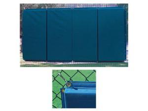 Folding Backstop Padding 4 x 12 ft. - Royal
