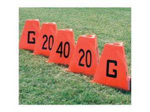 Sport Supply Group 1245127 Poly Flag Football Sideline Markers
