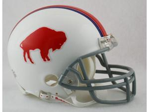 Creative Sports RD-BILLSTB-MR65-73 Buffalo Bills 1965-1973 Throwback Riddell Mini Football Helmet