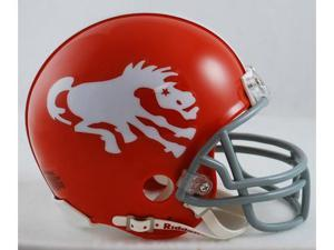 Creative Sports RD-BRONCOSTB-62-65-W Denver Broncos 1962-1965 Throwback Riddell Mini Football Helmet