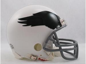 Creative Sports RD-EAGLESTB-69-73Wht Philadelphia Eagles 1969-1973 Throwback Riddell Mini Football Helmet