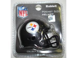 Creative Sports RPR-STEELERS Pittsburgh Steelers Riddell Revolution Pocket Pro Football Helmet