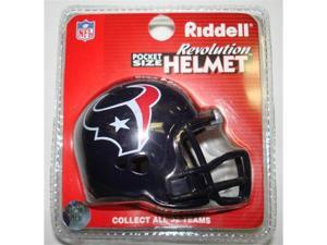 Creative Sports RPR-TEXANS Houston Texans Riddell Revolution Pocket Pro Football Helmet
