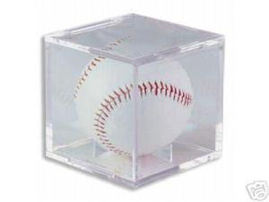 Creative Sports BQ-BASEBALL-GS BallQube Baseball Display Case-Holder Grand Stand