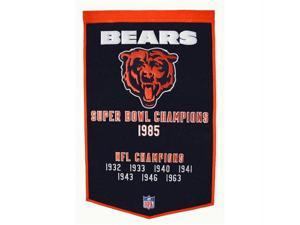 Winning Streak WSS-77080 Chicago Bears NFL Dynasty Banner 24x36