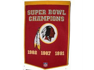 Winning Streak WSS-77095 Washington Redskins NFL Dynasty Banner 24x36