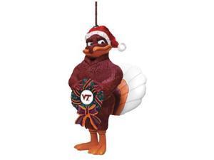 Memory COL-VRT-050 Mascot Wreath Ornament-Virginia Tech