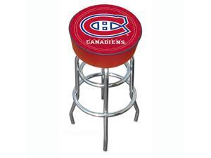 NHL Montreal Canadians Padded Bar Stool