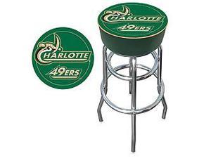 University of North Carolina Charlotte Padded Bar Stool