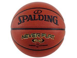 Spalding 74-096E NeverFlat Composite Leather Basketball - Size 7