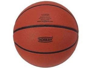 Tachikara SGB5R Rubber Basketball - Junior Size - Brown