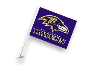 Fremont Die 98931 Baltimore Ravens- Car Flag W-Wall Brackett
