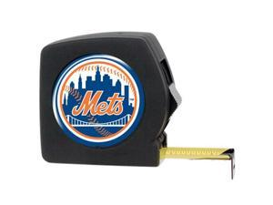 Great American Products Tpmbc2118 25 Ft. Black Tape Measure- Mlb Mets