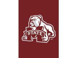 Party Animal GFMSU Mississippi State Bulldogs Garden - Window Flag
