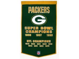 Winning Streak Sports 77010 Green Bay Packers Banner