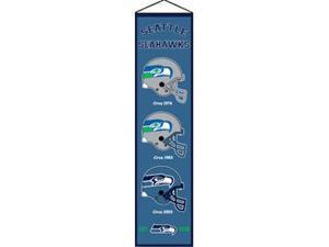 Winning Streak Sports 44048 Seattle Seahawks Heritage Banner