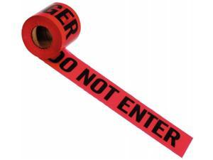 Irwin Industrial Tool 3in. X 300ft. Danger Do Not Enter Barrier Tape  66202