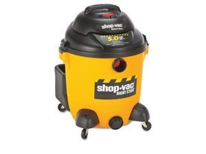 Shop-Vac 9625110 Economical Wet/Dry Vacuum- 12 Gallon Capacity- 23 lbs- Black/Yellow