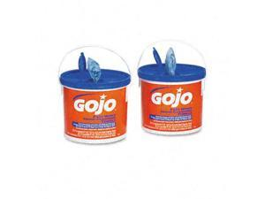 Gojo 629902CT FAST WIPES Hand Cleaning Towels  Cloth  9 x 10  WE 225/Bucket  2/carton