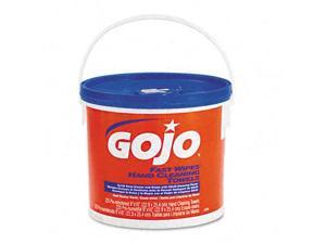 Gojo 629902EA FAST WIPES Hand Cleaning Towels  Cloth  9 x 10  White 225/Bucket