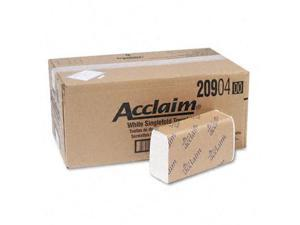 Georgia Pacific 20904 Acclaim 1-Fold Paper Towel  10-1/4 x 9-1/4  WE  250 Pack  16/ctn