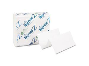 Georgia Pacific 20885 BigFold Z C-Fold Replacement Paper Towels- 8 x 11- White- 260/Pack- 10/Carton