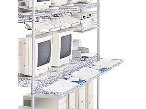 Safco 5232 Wire Keyboard Holder/ LAN System