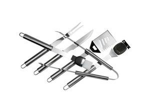 Chefs Basics Select Hw4112 6-Piece Stainless Steel Bbq Set