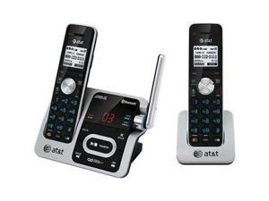 AT&T  TL92271 Cordless 2Handset Connect to Cell, Bluetooth, Black/Silver