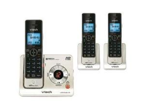 Vtech LS6425-3 Cordless Phone 3 Handset With Answering System, Silver