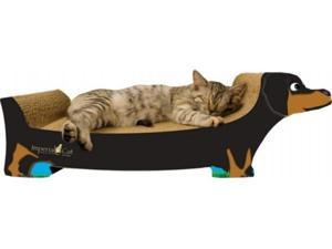 Imperial Cat 00186B Large Dachshund Cat Scratcher