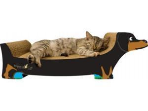 Imperial Cat 00186B Large Dachshund Cat Scratcher