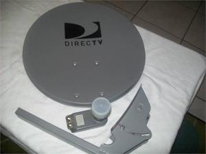 Directv 18SINGLE 18 in. Round Reflector Dish with LNB And 2 in. Collar