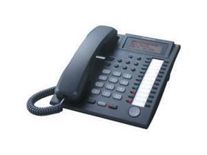 Panasonic BTI KX-T7736BK 24-Button Speakerphone Telephone with LCD Screen - Black