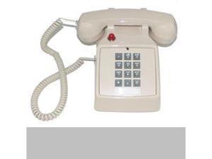 Cortelco ITT-2500-57MD-ASH 250044-VBA-57MD Desk w/ Message Waiting
