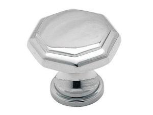 Amerock 973CH 1.19 in. Knob - Polished Chrome