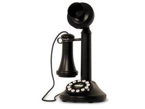 Crosley CR64-BK Candlestick Phone - Black
