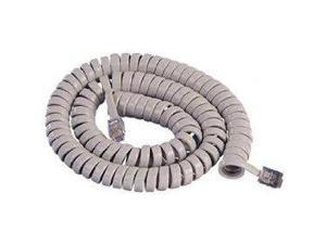 ICC 1200LG ICHC412FLG 12ft Handset Cord - Light Gray