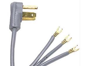 PETRA 90-1070 3-Wire Range Cords Open Eyelet 4-ft 50A