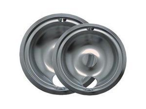 Range Kleen 139402Xcd5 Chrome Drip Pans - Plug-In Ranges&#59; Fits Most Ge , Hotpoint , Kenmore & Rca