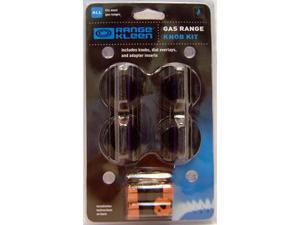 Range Kleen 8214 Gas Knob Kit - Four Pack - Black