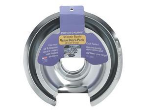 Range Kleen 10565X GE-Hotpoint-Kenmore Chrome Drip Pan -  Five-Pack